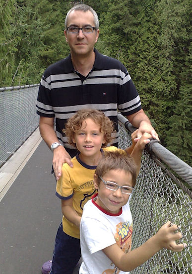 With Enrico and Matteo in the USA (summer 2010)